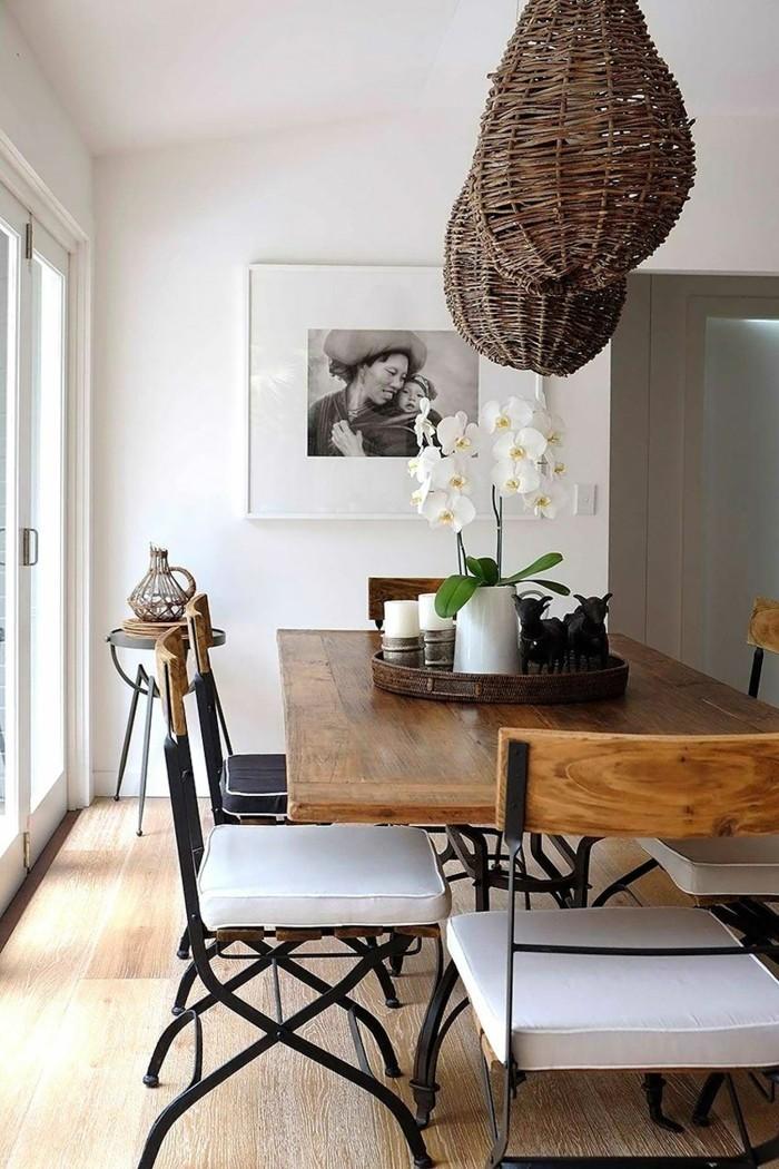 moderne stühle esszimmer attraktives design verschiedene materialien