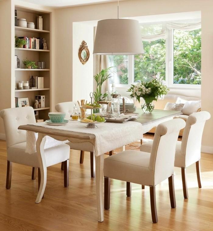moderne stühle esszimmer elegante essstühle helle wandfarbe