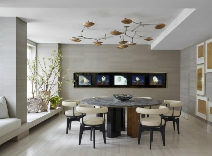 moderne stühle esszimmer moderner essbereich rückenlehne