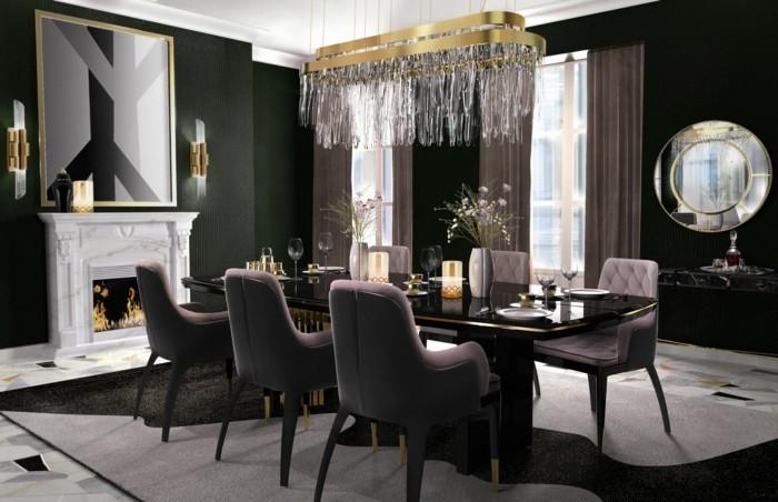 esszimmerstühle mit armlehne moderne stühle esszimmer schicke esszimmerstühle ausgefallener teppich wunderschöner bodenbelag