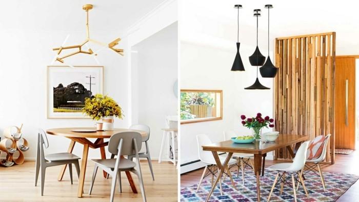 moderne stühle esszimmer schlichtes modernes design