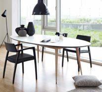 48 moderne Stühle im Esszimmer – Auch im Essbereich wird der Sitzkomfort groß geschrieben!