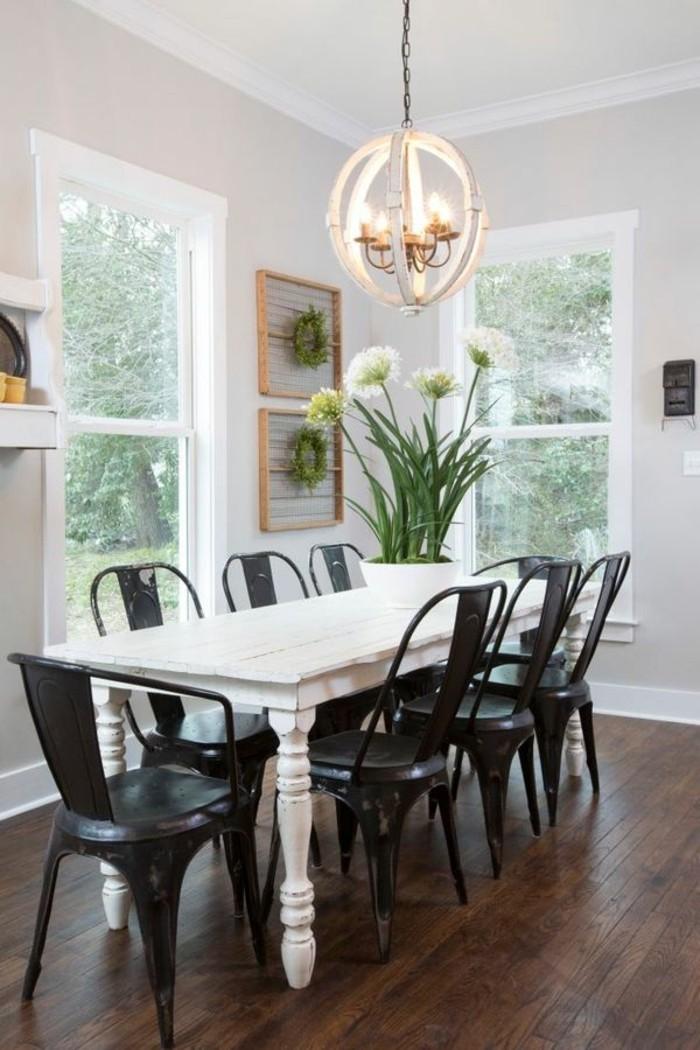 moderne stühle esszimmer schwarze esszimmerstühle weißer esstisch
