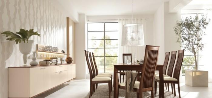 moderne stühle esszimmer sitzkomfort komfortable rückenlehne