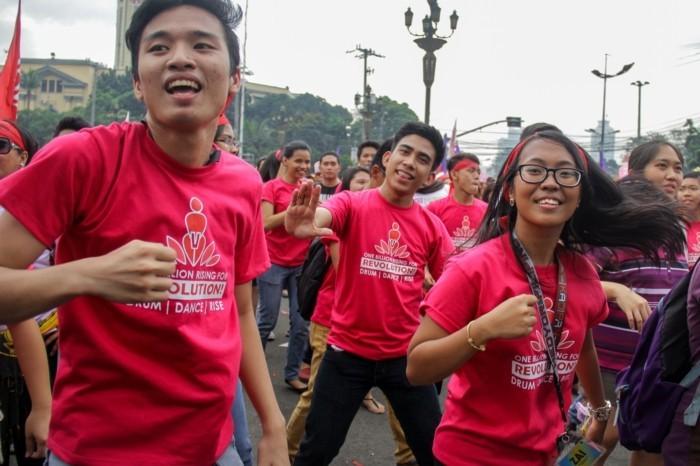 one billion rising februar asien