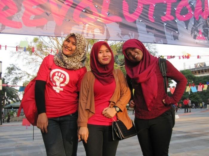 one billion rising februar indonesien