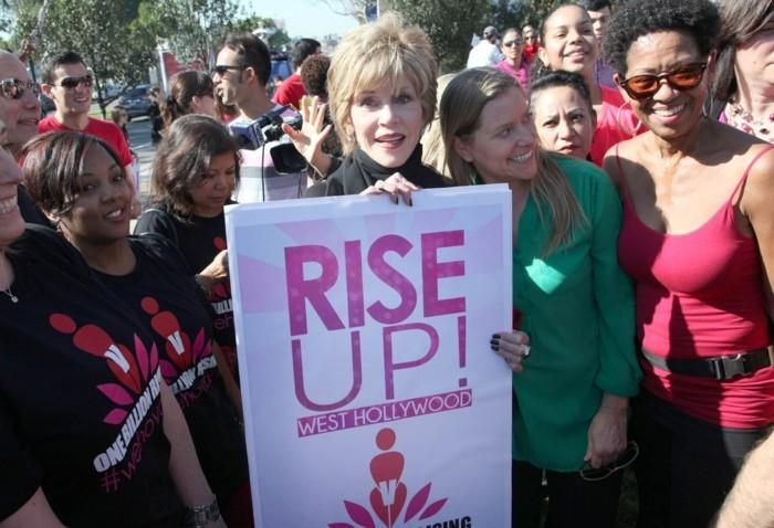 one billion rising februar jane fonda