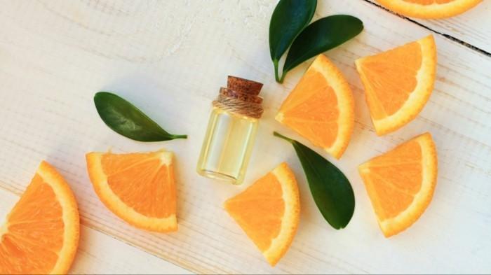 orangenbluetenwasser hintergrund