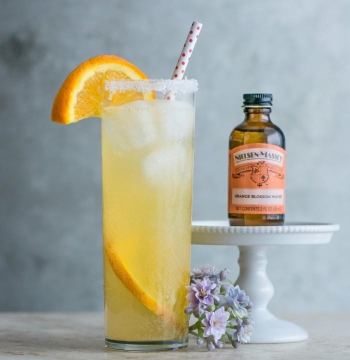 orangenbluetenwasser mit vanille