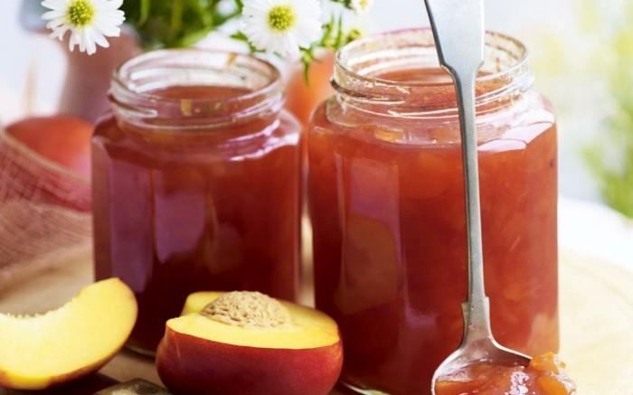 orangenbluetenwasser pfirsich marmelade
