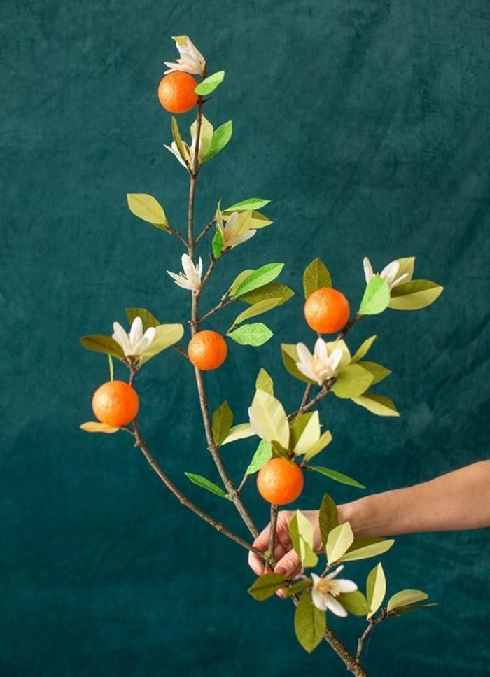 orangenbluetenwasser zweig