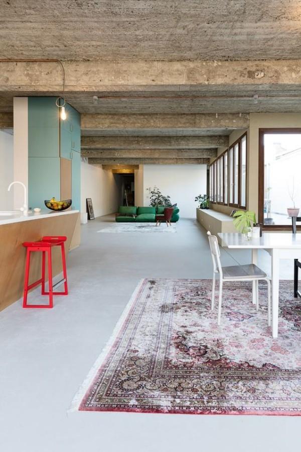 orientteppich kelim wohnzimmer deko trends 2018