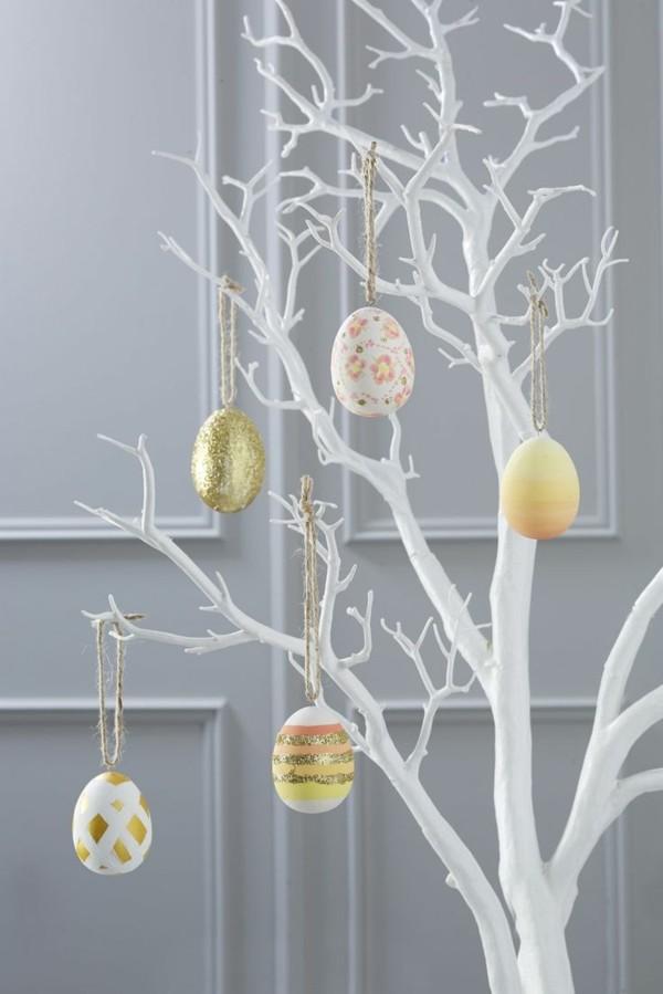 ostereier deko idee im minimalistischen stil