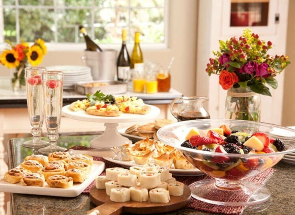 party fingerfood ideen gesund lecker obst gemüse