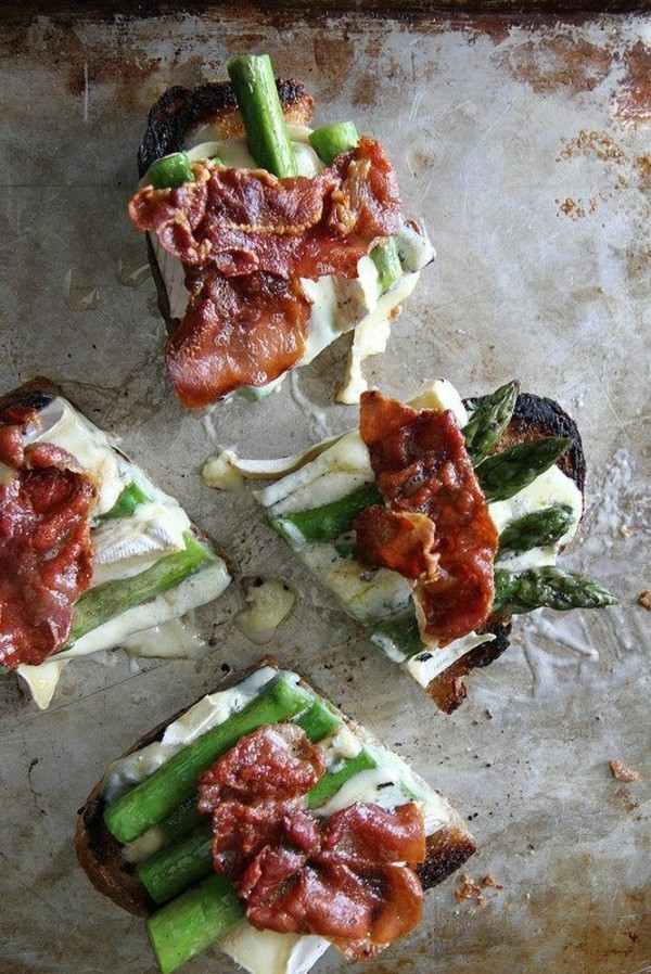 prosciutto spargel brie party fingerfood ideen