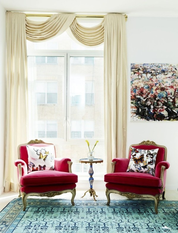 purpurnes sofa einrichungsideen wohnideen