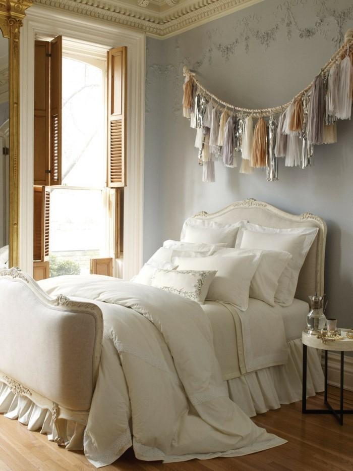 quasten wand deko schlafzimmer