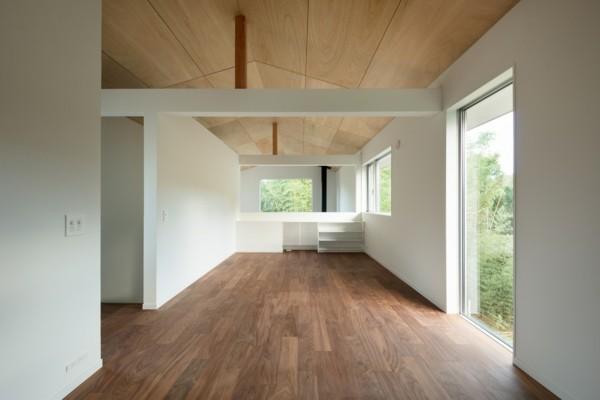 raumverteilung einblick moderne architektur