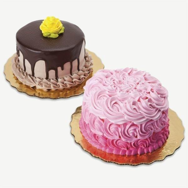 rosa creme und schockolade mini torten