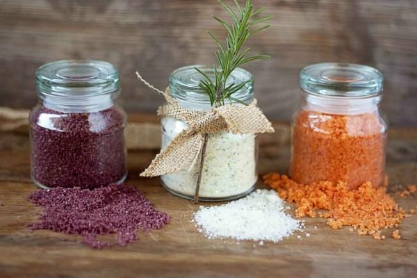 salze im glas geschenke aus der küche