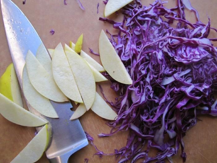 sauerkraut gesund roh kraut mit aepfeln