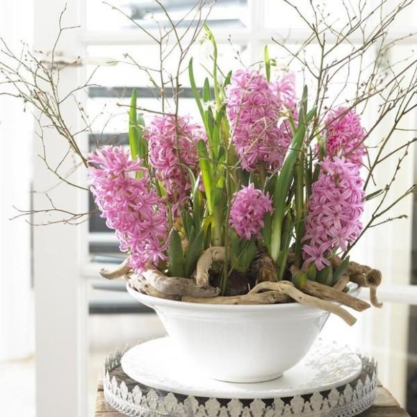 schöne Frühlingsdekoration