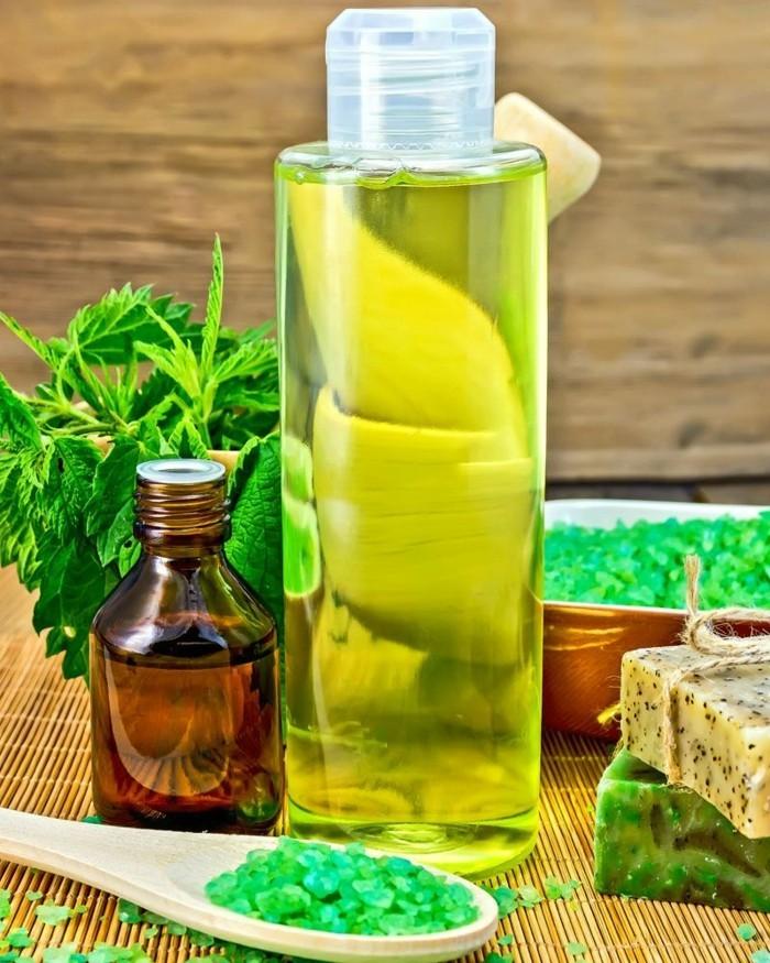 shampoo selber machen natuerlich zart kopfhaut salbeiextrakt natur brennessel