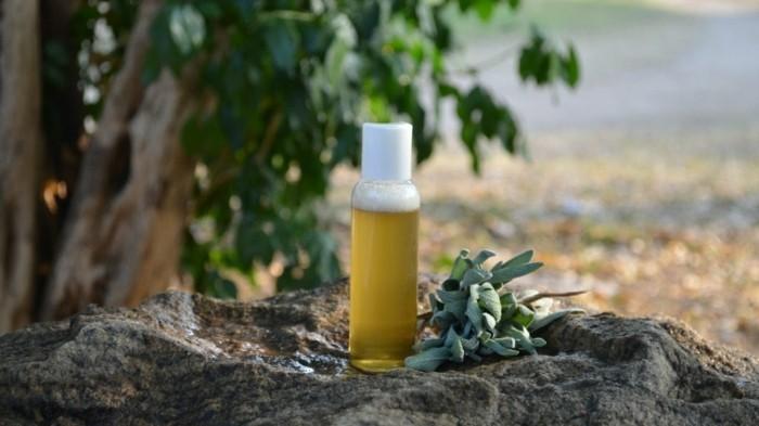 shampoo selber machen natuerlich zart kopfhaut salbeiextrakt