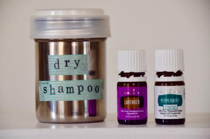 shampoo selber machen natuerliche materialien trockenschampoo
