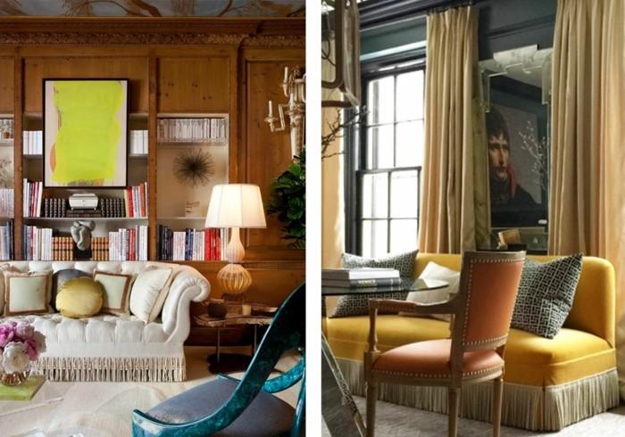 sofas fransen wohnzimmer einrichten polstermöbel