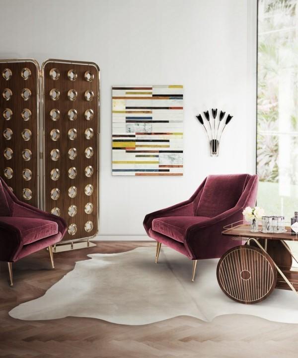 teppich deko trends fellteppich wohnzimmer