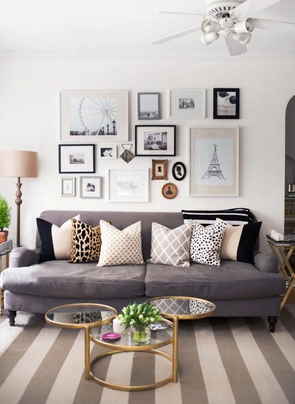 tierprint dekokissen ideen sofa wohnzimmer