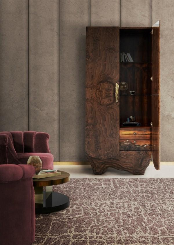 tierprints lila beige teppich deko trends