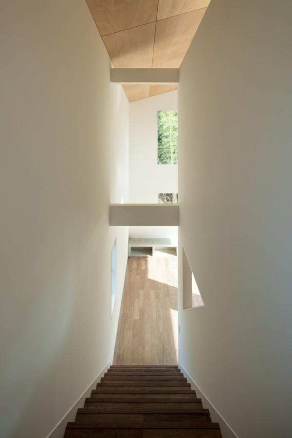 treppenhaus moderne architektur idee