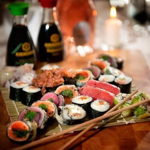 valentinstagsmenü sushi zubereiten diy valentinstag