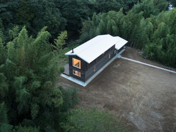 vogelperspektive moderne architektur