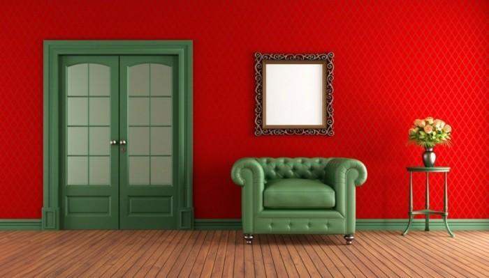 wandfarbe wohnzimmer farbtypen einrichtungsideen