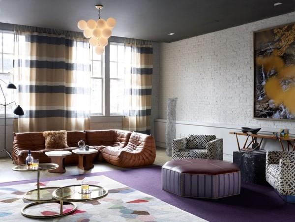 leder und fellakzente im kontext der aktuellen wohntrends 2018. Black Bedroom Furniture Sets. Home Design Ideas