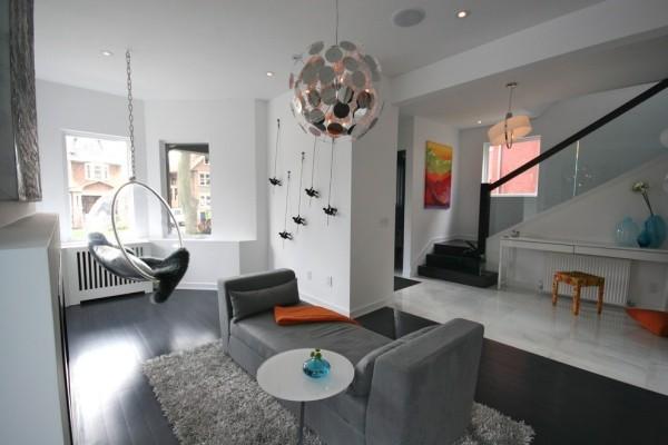 Zimmer einrichten mit grauen m beln warum und wie denn for Ausgezeichnet graues wohnzimmer akzente