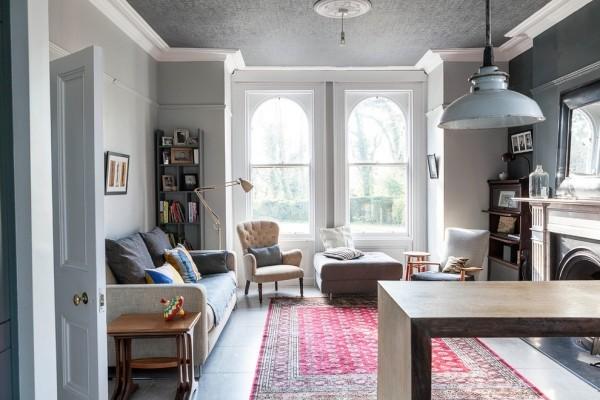 Hervorragend Zimmer Einrichten Hellgraue Möbel Schöne Graue Zimmerdecke