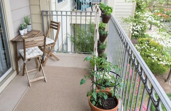 Balkon Garten mit viel lauffläche