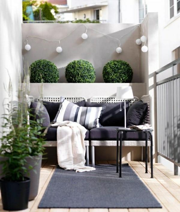 Balkon Garten moderne und klassische elemente