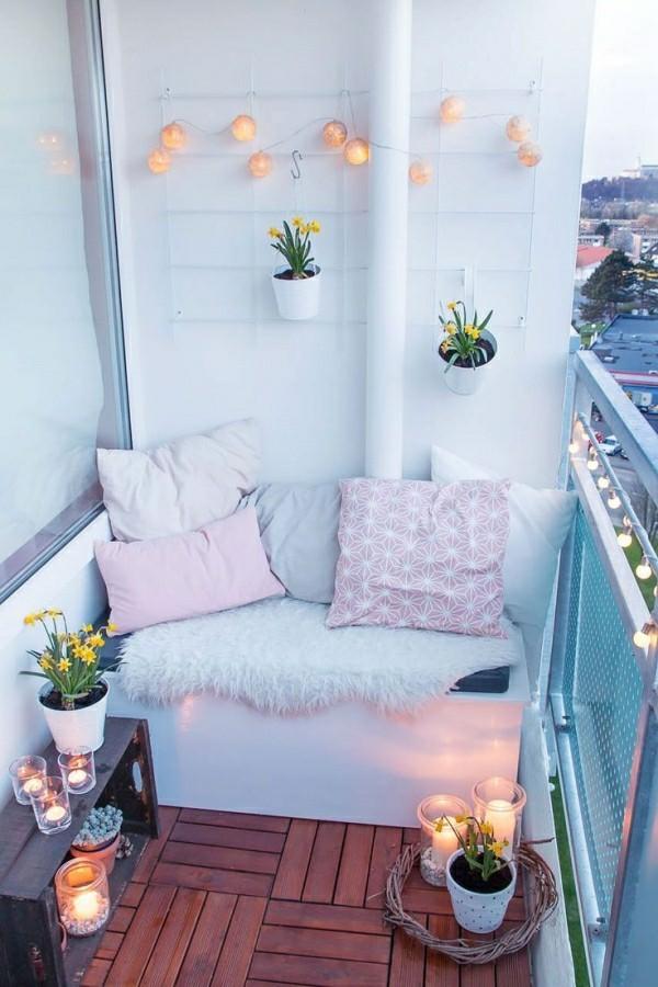 Balkon Garten sitznische