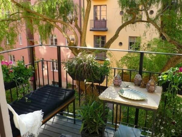 Balkon bepflanzen Aussicht verschönern