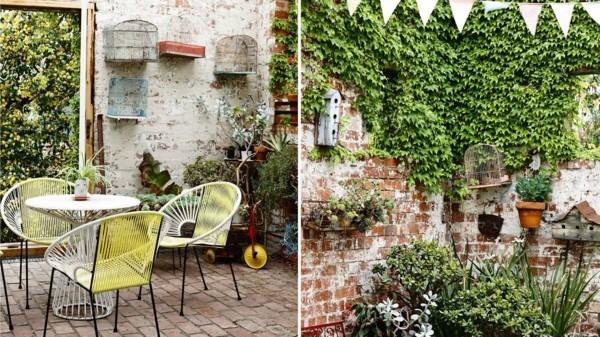 Balkon bepflanzen ländlich und edel