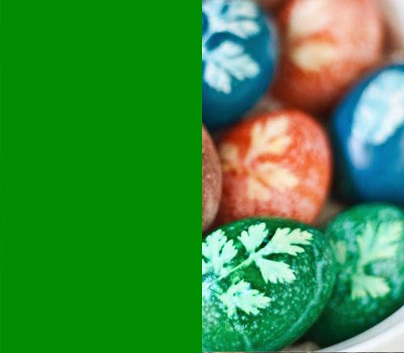 Bedeutung der Farben Ostereier färben dekorieren
