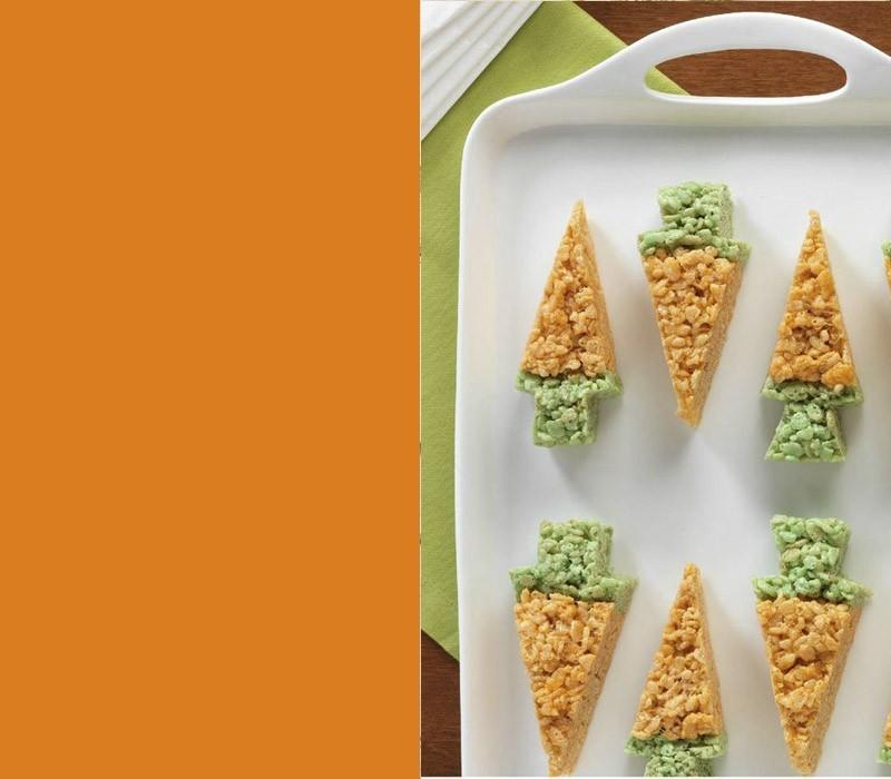 Bedeutung der Farben kleine Desserts in typischen Osterfarben