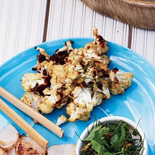 Gebratener Karfiol mit Dijon Senfsauce