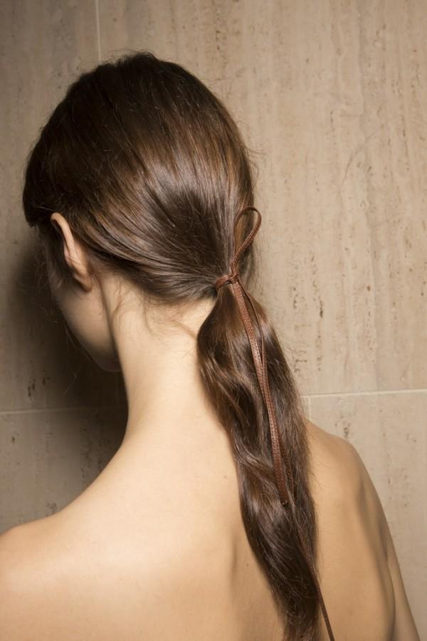 Haarfarben Trends gold dunkelbraun