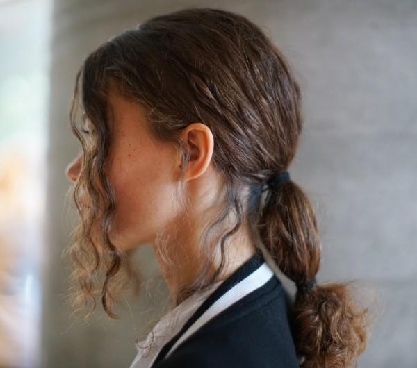 Haarfarben Trends natürliches braun